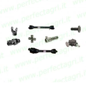 PTO Drive shafts and spare parts