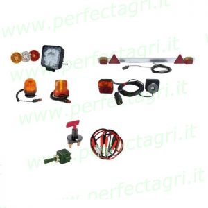 Electrical accessories & lights
